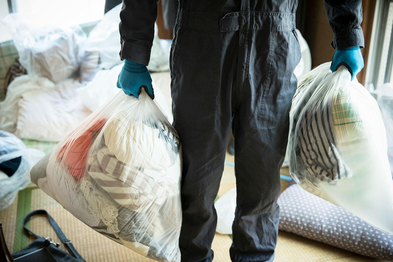 ゴミ屋敷となった実家の遺品を仕分ける(片付ける)方法
