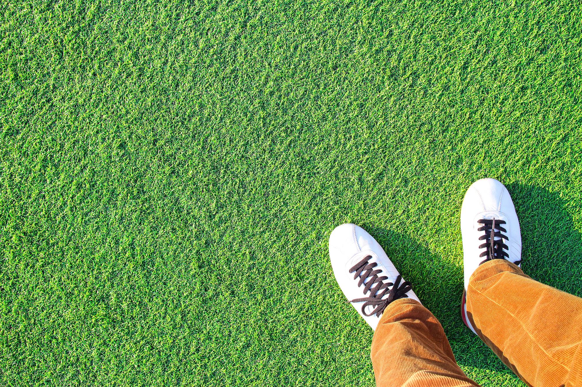 人工芝の耐用年数と交換時の処分方法を紹介