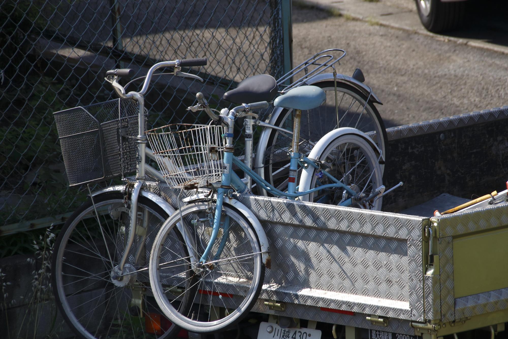 自転車の廃棄方法とは?大量の自転車は廃棄業者に任せよう